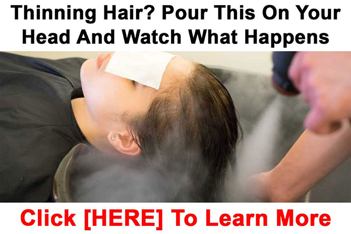 Thinning Hair? Pour This On Your Head and Watch What Happens
